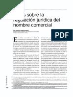 NOTAS SOBRE LA REGULACIÓN DEL NOMBRE COMERCIAL.pdf