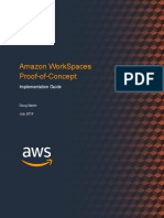 Amazon WorkSpaces Proof-of-Concept Implementation Guide