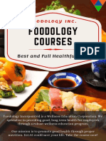 Check Out the Helpful Healthcare Courses _ Foodology Inc