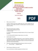 CE2401 - Design of Reinforced Concrete Design