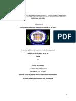 ASSESS THE KNOWLEDGE REGARDING MENSTRUAL HYGIENE MANAGEMENT IN RURAL SCHOOLS (.prasu.docx