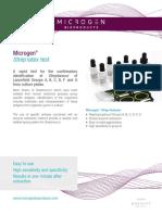 Brochure Strep Latex Test M47CE
