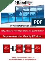 RF Video Distribution System