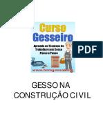 Apostila - Gesso Na Construção Civil