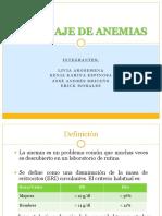 Abordaje de Anemias (1)