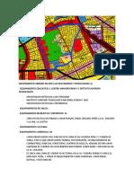 Equipamiento Urbano en Jose Luis Bustamante y Rivero Zona 3