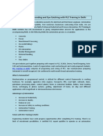 What is extra demanding and Eye Catching with PLC Training in Delhi.pdf