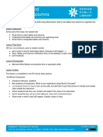 Microsoft Word  - Tables and Columns Lesson Plan.docx