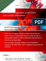 Acute Cardiac Alterations
