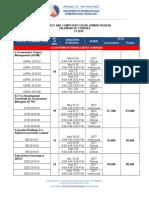 2019 ILCDB Calendar of Courses v6