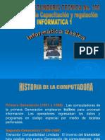 Inicio de Informatica 1