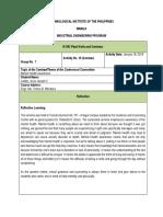 Mental Health Awareness Reflection Paper