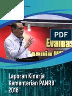 LAKIP Kementerian PANRB Tahun 2018