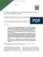 Association of Rheumatic Fever & Rheumatic Heart Disease