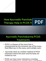 How Ayurvedic Panchakarma Therapy Help in PCOS Treatment