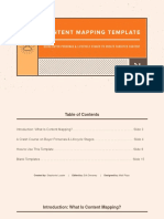 Content Mapping Template.ppt