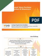 Petunjuk Teknis Penilaian Dokumen & Wawancara.pdf