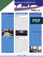 TRAM Newsletter Second Edition