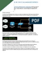 Concepts de Base de Cisco Callmanager Express 1