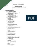 Jobsite List for 1st Sem-2019-2020