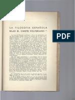 La Filosofia Bajo El Chiste Volteriano- Iriarte (1945)