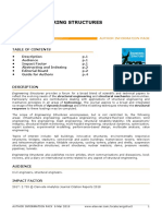 Engineering Structures Guidelines