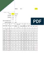 Bored Pile Calculation Sample