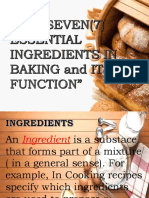 7 Essential Ingredients