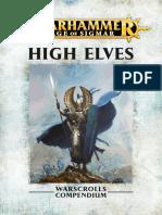 High Elves Conversion-Age of Sigmar