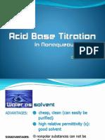 3_acid Base Titration in Nonaqueous_dsw