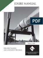 Pipeliner training & assessment