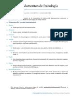 Psocología Temas 16 y 17