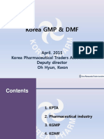 Korea GMO and DMF
