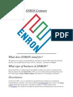 ENRON Company.docx