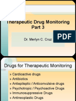 THERAPEUTIC DRUGS MONITORING