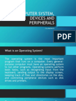 Computer System, Devices and Peripherals