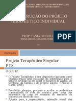 Projeto terap+¬utico singular