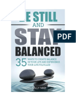 35 Ways to Create Balance in Your Life