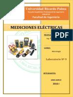LAB 9  mediciones electricas  2019.docx