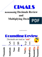 Multiply Decimals DLP