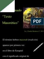 El Texto masorético y otros testigos