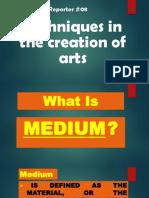 Medium & Teacnique.pptx