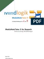 Mindlogik MediaNoteTaker for Research
