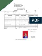 SIAKAD Kartu Rencana Studi Mahasiswa