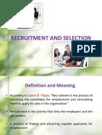 Module 3 Recruitment