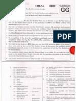 NEET 2018 Exam Paper Code GG