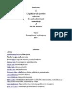 Katekismus Tai Logiikka Tai Ajattelu Tarkoitettu-suomi-Gustav Theodor Fechner