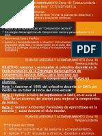 PLAN DE ASESORÍA Y ACOMPAÑAMIENTO Zona 18 Telesecundaria.pptx