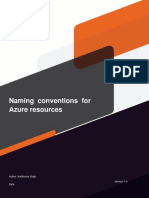 Azure Naming Convention