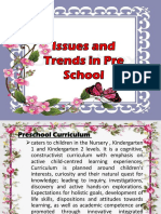 Issues and Trends in Pre School.pptx